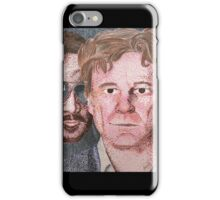 Colin Firth and a Creepy Man iPhone Case/Skin