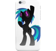 Monochrome DJ Pon-3  iPhone Case/Skin
