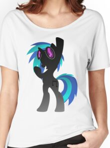 Monochrome DJ Pon-3  Women's Relaxed Fit T-Shirt