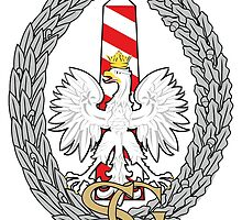 Logo of the Polish Border Guard Force by abbeyz71