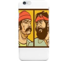 Cheech and chong iPhone Case/Skin
