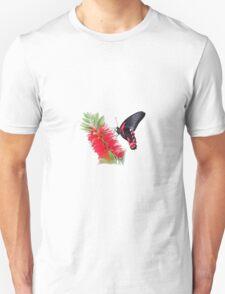 Scarlet Mormon Butterfly T T-Shirt