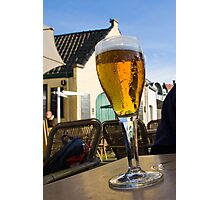 Beer Blue Skies Photographic Print