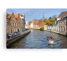 River Cruize Canvas Print