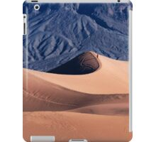 Sunrise over Mesquite Flat Sand Dunes iPad Case/Skin