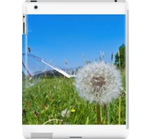 Dandelion clock and wind blown seed iPad Case/Skin