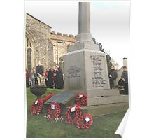 War Memorial - Remembrance Day 2008 Poster