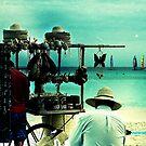 beach vendors by Kate Wilhelm