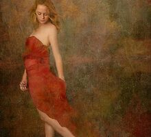 Red dress by Ana CB Studio