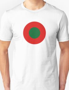 Roundel of the Portuguese Aviation Service, 1917-1918 T-Shirt