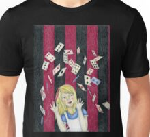 Alice and the pack of cards Unisex T-Shirt