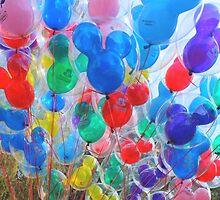 Disneyland Balloons #2 by disneylandaily