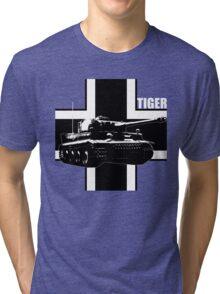 tank tiger Tri-blend T-Shirt