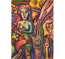 Ancient Fertility Goddess of Mexico Photographic Print
