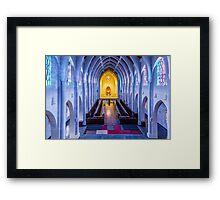 Monastery of the Holy Spirit Framed Print