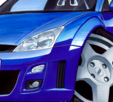 Ford Focus RS Blue Sticker