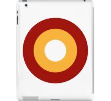 Roundel of the Qatar Emiri Air Force  iPad Case/Skin