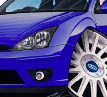 Ford Focus ST170 (3dr) Blue Sticker