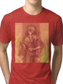 Hannigram - Saved from the flames  Tri-blend T-Shirt