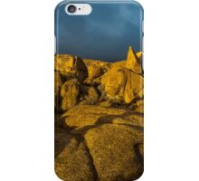 Sunrise Joshua Tree Jumbo Rocks iPhone Case/Skin