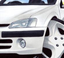 Peugeot 106 Quiksilver Sticker
