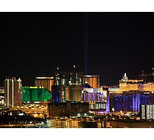 Vegas From Paradise Photographic Print