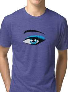 Blue eye Tri-blend T-Shirt
