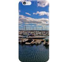 Torquay Marina, Devon, England iPhone Case/Skin