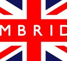 Cambridge UK Flag  Sticker