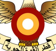 Qatar Air Force Emblem Sticker
