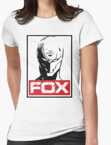 The Fox 02 Womens Fitted T-Shirt