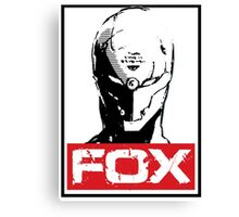 The Fox 02 Canvas Print