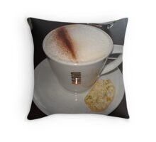 Posh Coffee Throw Pillow
