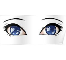 Stylized eyes 7 Poster