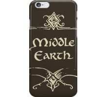 Middle Earth iPhone Case/Skin