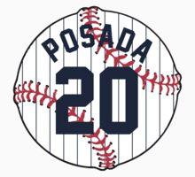 Jorge Posada Baseball Design by canossagraphics