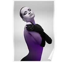 Purple 2 Poster