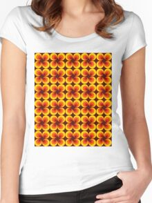 Groovy Baby. Women's Fitted Scoop T-Shirt