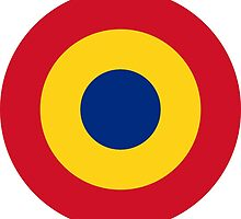 Roundel of the Romanian Air Force by abbeyz71