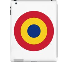 Roundel of the Romanian Air Force iPad Case/Skin