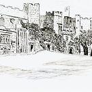 Durham Castle by GEORGE SANDERSON