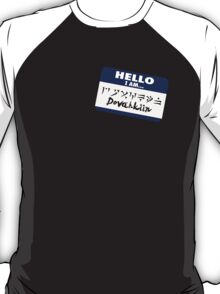 Hello I am - Dovahkiin T-Shirt
