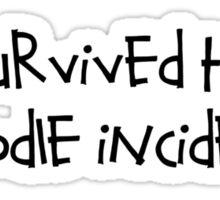 Noodle Incident  Sticker