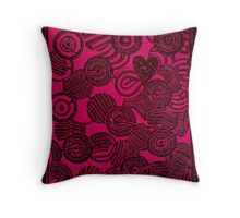 Amazed, if I find a heart. Throw Pillow
