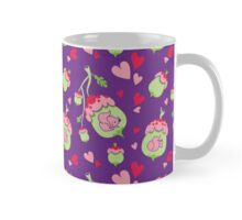 Swinging Acorns in Purple Mug