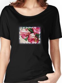 Pink rose 7 Women's Relaxed Fit T-Shirt