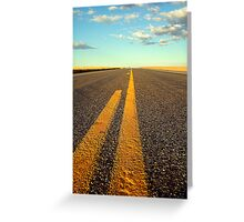 Asphalt Dreams Greeting Card
