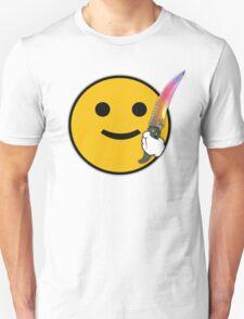 CS: GO Flip Knife Fade Unisex T-Shirt