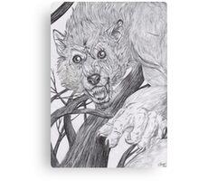 Werewolf 2 Canvas Print