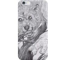 Werewolf 2 iPhone Case/Skin